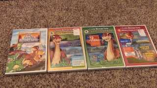 The Land Before Time Complete DVD Collection Unboxing Review Movies 1-13