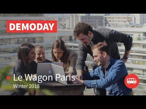 Coding Bootcamp Paris | Le Wagon Demo Day - Batch #134