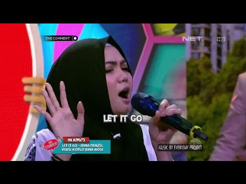 Let It Go Versi Rina Nose Asli Bikin Ngakak (1/4)