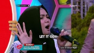 Let It Go Versi Rina Nose Asli Bikin Ngakak (1/4)