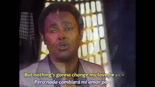 GEORGE BENSON   NOTHING'S GONNA CHANGE  Subtítulos Español & Inglés