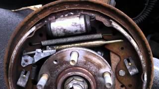 landrover freelander  brake sistem. Back
