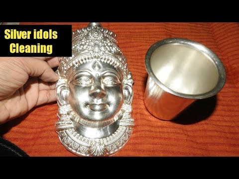 ಬೆಳ್ಳಿ ವಿಗ್ರಹಗಳನ್ನು ತೊಳೆಯುವುದು ಹೇಗೆ ? /How to Clean, Protect and Store Silver Idols/ Savi Bhojana
