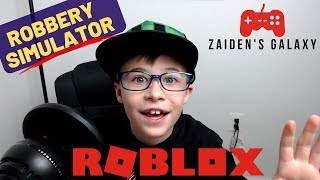 Roblox Robbery Simulator - Steelin' Stuff Like Crazy