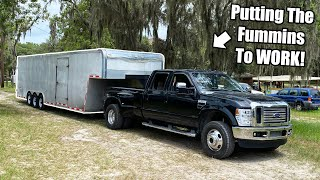 The Fummins Build Takes it's First Trips! Will it Make it!? CR Cummins Swapped - 6.4 Ford Pt.23!