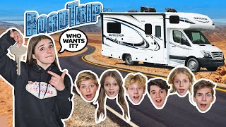LAST TO LEAVE $100,000 RV KEEPS IT Challenge!! w/ my CRUSH **COUPLES Vacation** 🚍❤️| Piper Rockelle