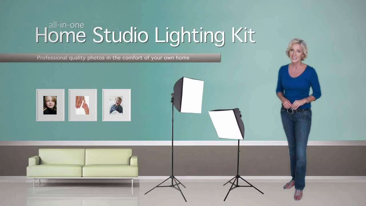 The Erin Manning Home Studio Lighting Kit & The Erin Manning Home Studio Lighting Kit - YouTube