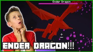 I Defeated the Ender Dragon in Minecraft!!! [Awesomely]