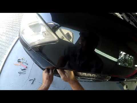 Мерседес w 221 - как снять передний бампер?