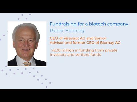 Фандрайзинг для биотехнологических компаний.