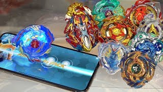 digital remote controlled beyblade vs real beyblades beyblade burst