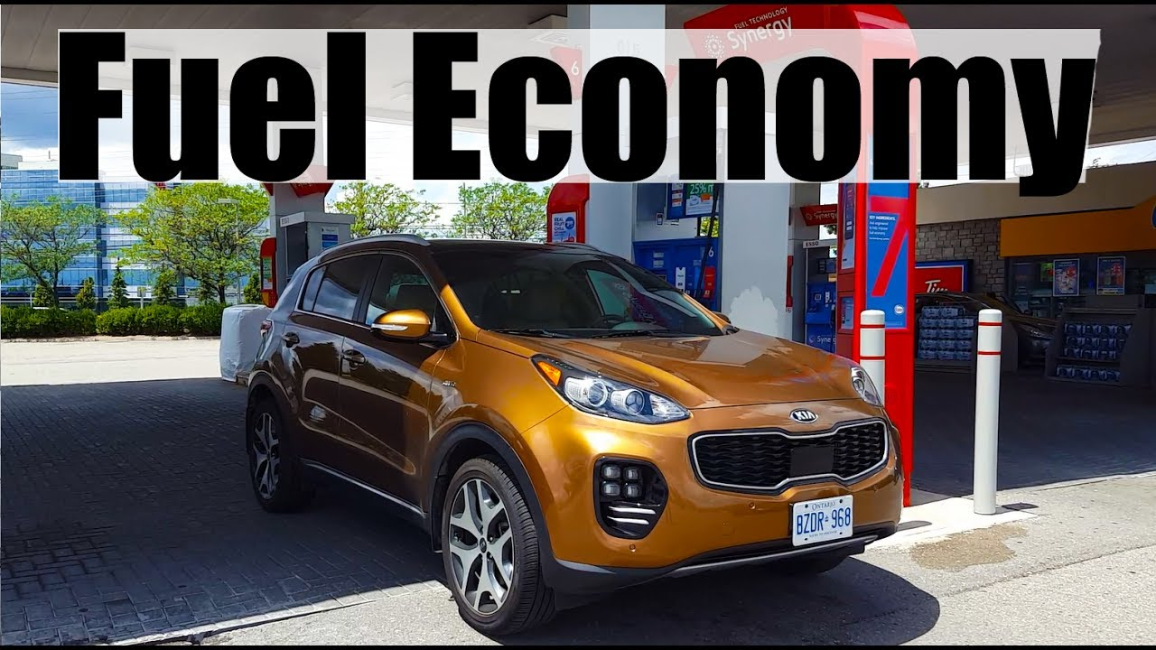 2018 kia sportage fuel economy mpg review fill up costs youtube. Black Bedroom Furniture Sets. Home Design Ideas