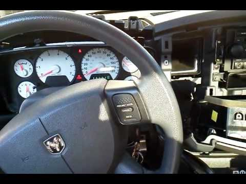 DODGE RAM CLUSTER GAUGE INSTALL 2008 INSTRUMENT PANEL BULB ...