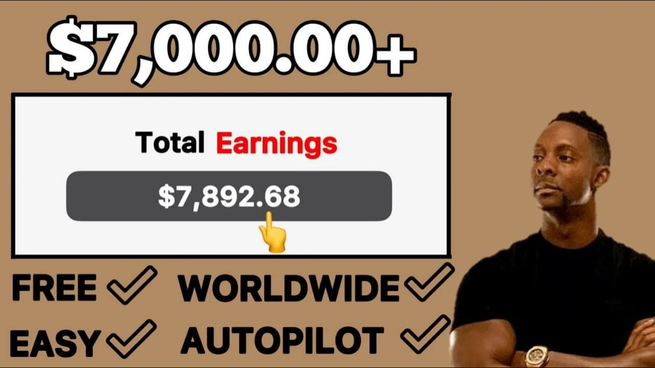 Earn $7,000 For Free On Autopilot | Full Make Money Online Tutorial (2021) Make Money Online