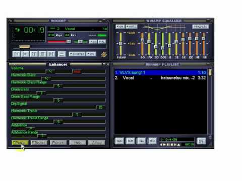 Let's Plug (1) Testing : Enhancer 017 DSP (for ffdshow:audio // Winamp)