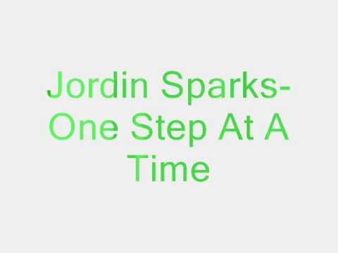 Jordin Sparks e Step At A Time Lyrics