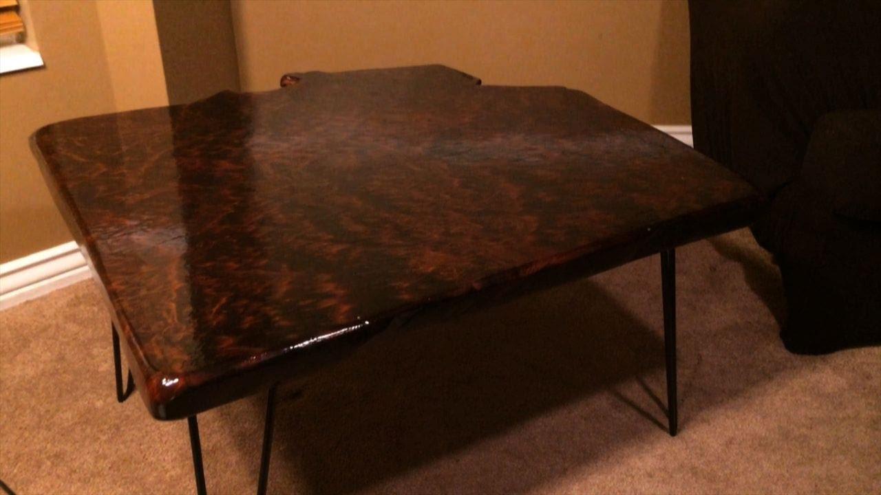 Cedar Burl Table