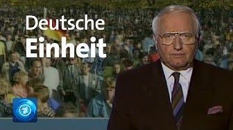 Tag der Deutschen Einheit - tagesschau vom 3. Oktober 1990