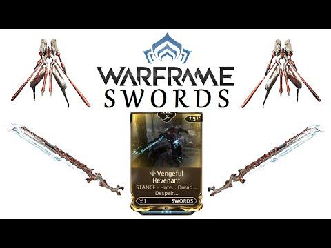 Warframe Stances - Vengeful Revenant (Swords)