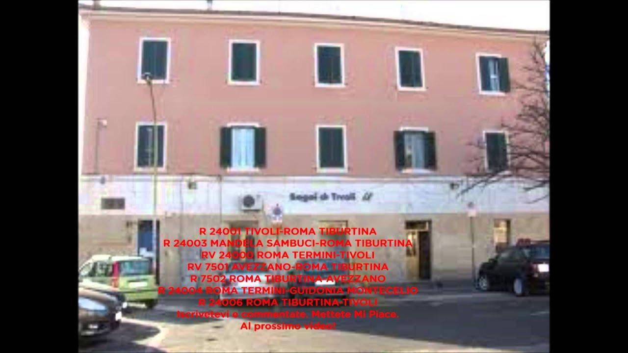 Annunci alla Stazione di Bagni di Tivoli - 110° video - Con plin ...