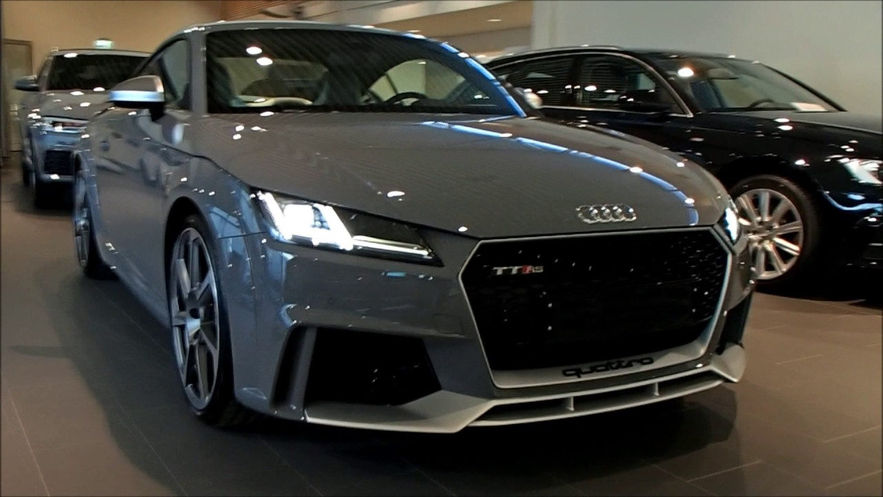 Audi Exclusive 2017 Audi Tt Rs 400 Ps Oled Start Up Revving Walkaround