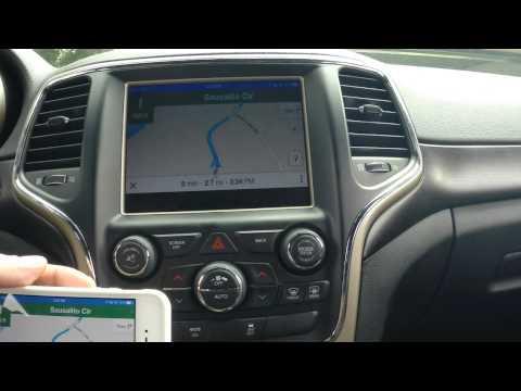 AppleTV mirroring iPhone in 2014 Jeep Grand Cherokee