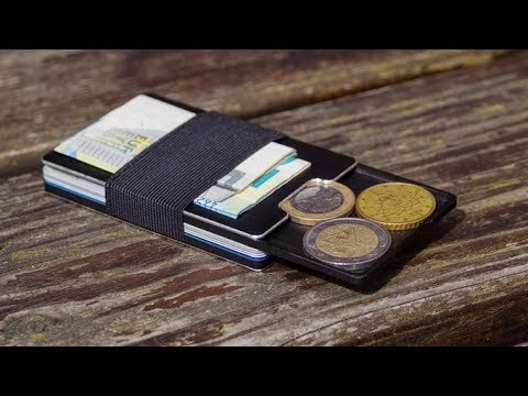 slim wallet aviator mit kleingeldfach rfid schutz live auf kickstarter deutsch youtube. Black Bedroom Furniture Sets. Home Design Ideas