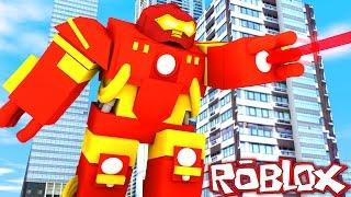 IRONMAN HULKBUSTER IN ROBLOX! (Roblox Superheroes)