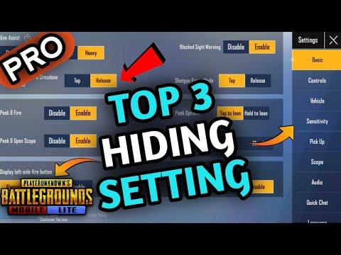 Top 3 Hiding
