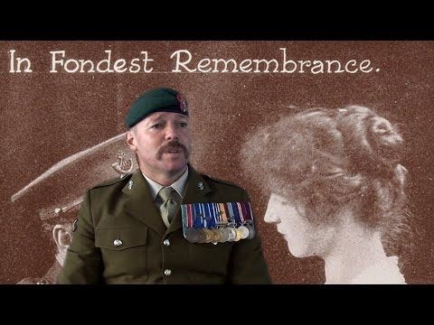 'Interview with a Soldier', a film by artist David Marchant