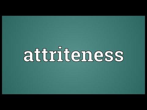 Header of attriteness