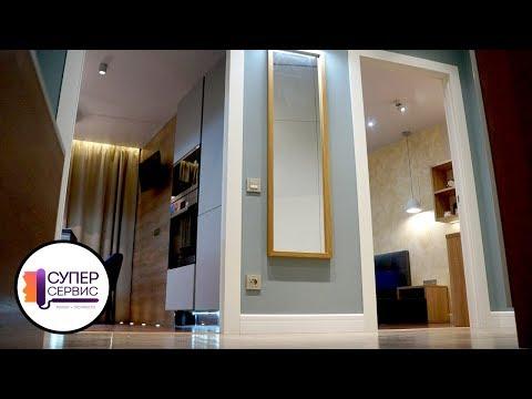 Очень красивый ремонт однушки | Ремонт однокомнатной квартиры | Ремонт квартир в СПБ | Супер Сервис