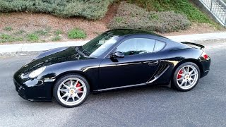homepage tile video photo for Porsche 987 Cayman S sights and sounds