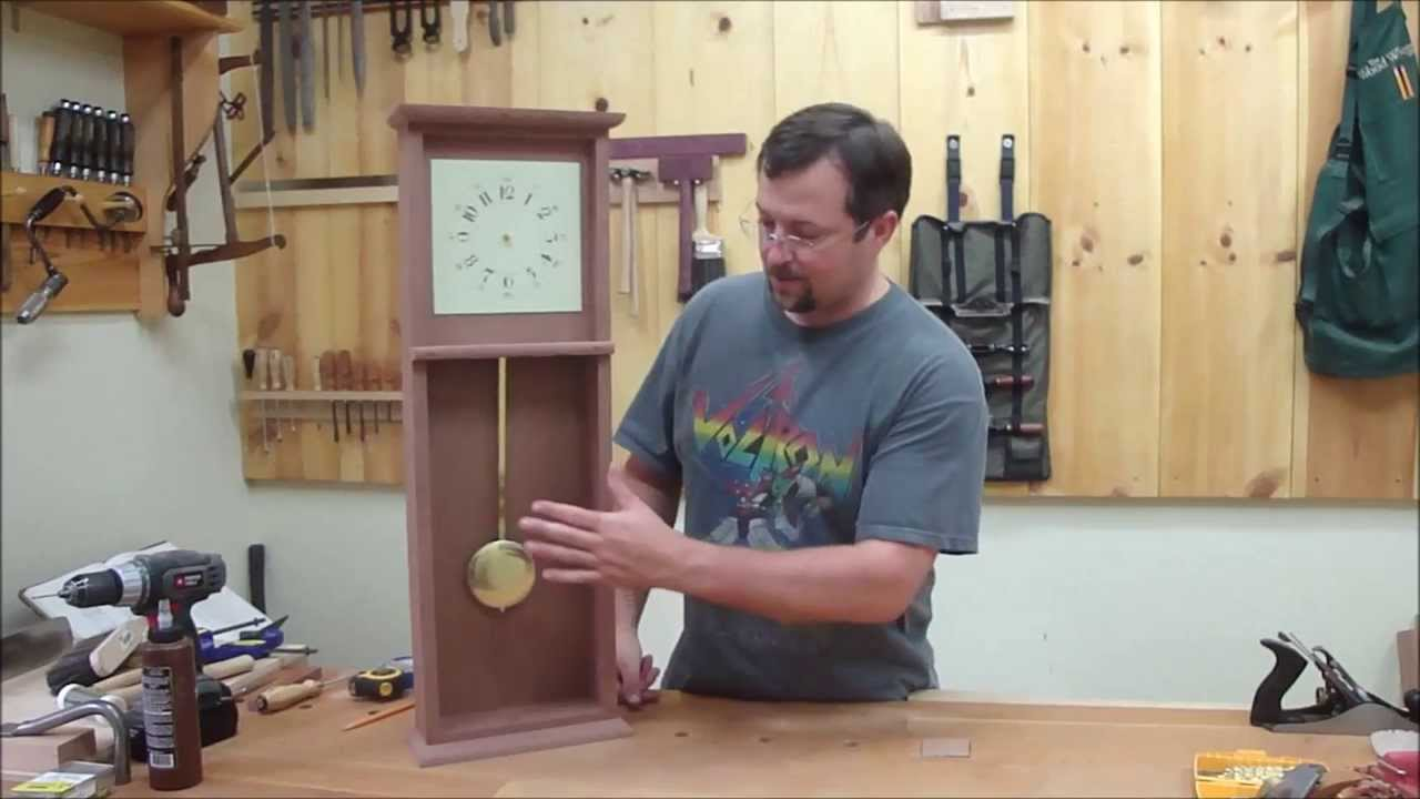 Shaker wall clock part 2 youtube amipublicfo Image collections