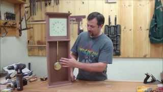 Shaker Wall Clock Part 2 Episode #23 Billy's Little Bench