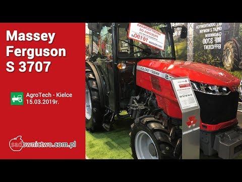 Massey Ferguson S 3707 - AgroTech Kielce 2019