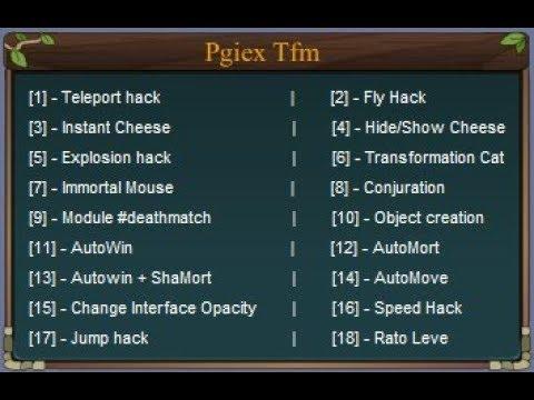 Transformice and pirate Client hack[Miceforce,Supermice,Hugmice] - Pgiex Tfm