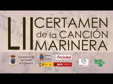 LII Certamen de la Canción Marinera. Final