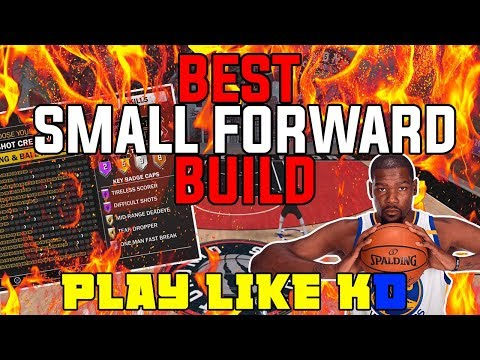 BEST DEMIGOD SMALL FORWARD BUILD ON NBA 2K18!!! | KD BUILD NBA 2K18!
