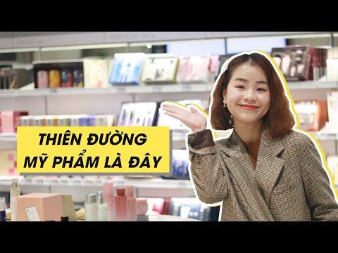 Cận Cảnh Phố Mỹ Phẩm Lớn Nhất Hàn Quốc ♡ Biggest Cosmetics Street in Korea ♡ Quin