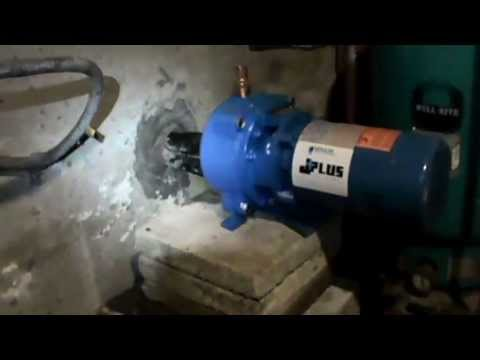 how to replace an in house deep well pump