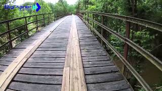 Swinging Bridges Lake of the Ozarks Flooded