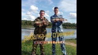 Рыбалка на спиннинг осенью. Все с нулём, а мы с рыбой.