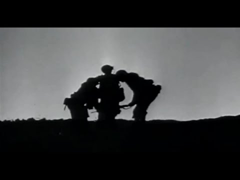 Iwo Jima US Marines in Desperate Battle Get Close Air & Naval Support WW2 Combat Footage