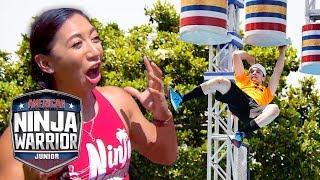 Top 10 Jaw Dropping Moments on Ninja | American Ninja Warrior Junior | Universal Kids