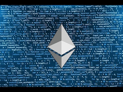 Let's build a smart contract on the Ethereum Blockchain