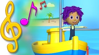 TuTiTu Songs | Boat Song | Songs for Children with Lyrics