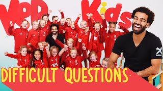 Mo Salah quizzed by Liverpool women U9s  Fortnite dance moves FIFA 20 ratings and Scouse