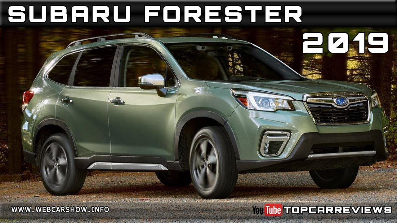 2019 Subaru Forester Review Rendered Price Specs Release Date Youtube
