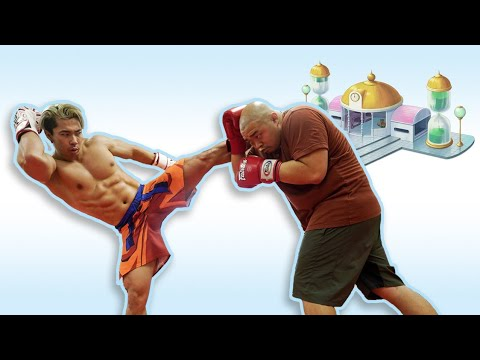 GOKU AND KRILLIN TRAIN IN THE HYPERBOLIC TIME CHAMBER